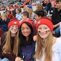 International Program students attend Calgary Stampeders Game!